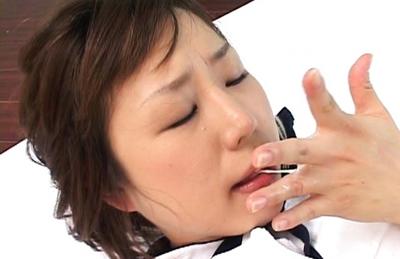 Nonoka Super Asian babe in hot sex action