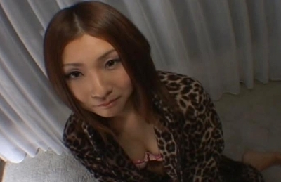 Natsu Sweet Asian model looks good when she gives blow jobs