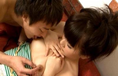 Akane Ohzora Lovely Asian model gets a facial