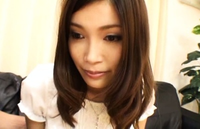 Gorgeous Japanese hottie needs to get some relaxation