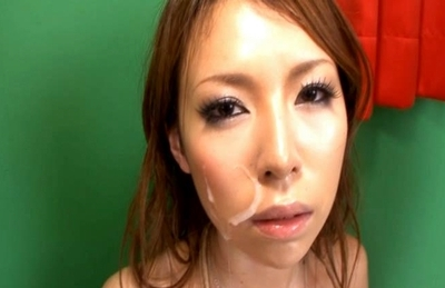 Rino Asuka Pretty Asian doll enjoys sucking cock