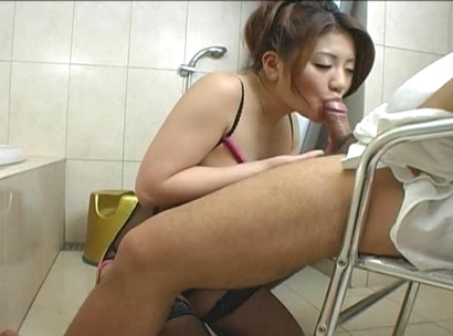 Karin and Seira Asian model knows how to suck cock