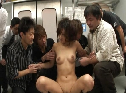 Asami Yoshikawa Asian model gets a gangbang