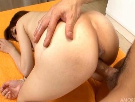 Mai Yukino Busty Asian babe gets a facial
