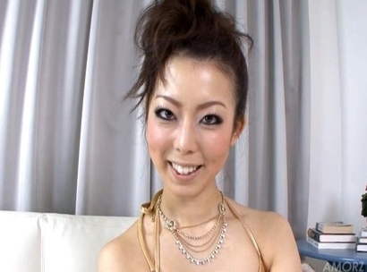 Yuki Asami Hot Japanese model is playing with her favorite dildo