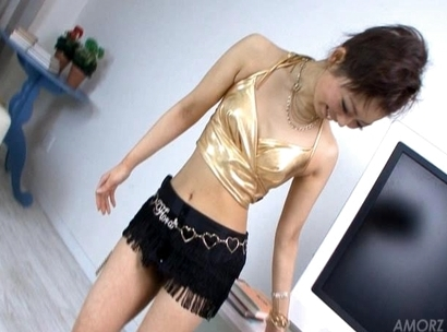 Yuki Asami Hot Japanese model is playing with her favorite dildo